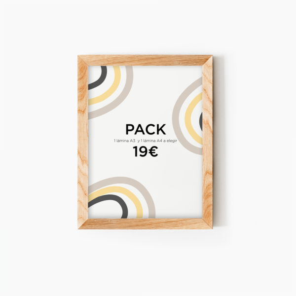 Pack Laminas A3 A4 MrMint personalizadas