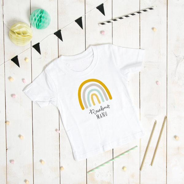 camiseta-arcoiris-rainbow personalizada