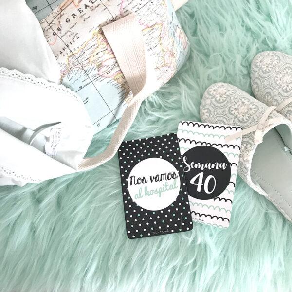 mamicards tarjetas embarazo mrmint personalizadas