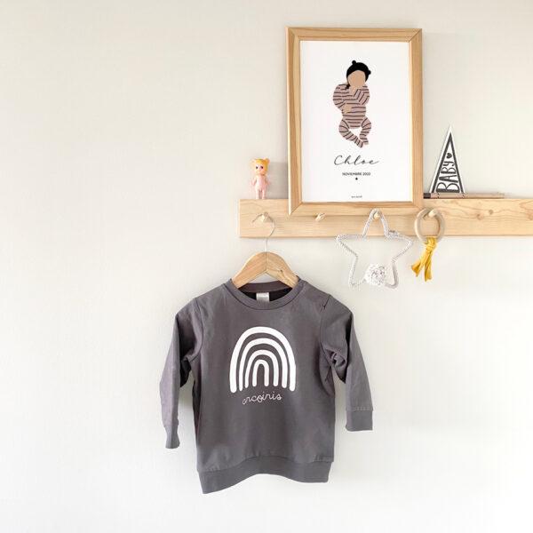 lamina newborn personalizada mrmint