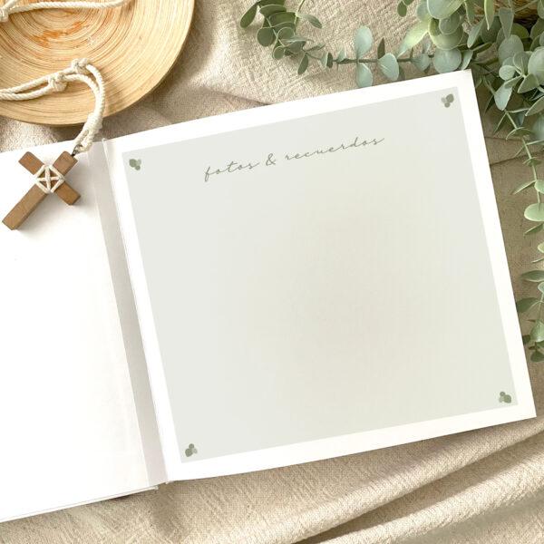 libro firmas comunion mrmint personalizado