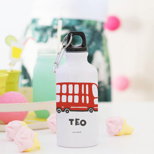 botellas cantimploras cole coches personalizados MrMint