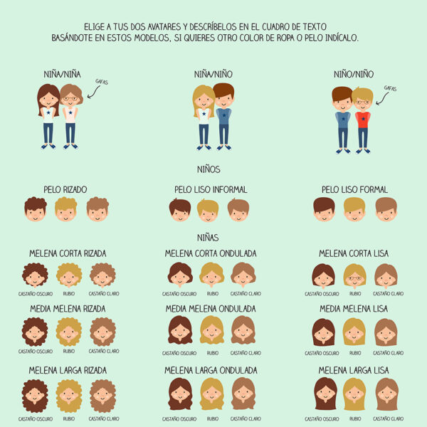 avatares personalizados mejores amigos mrmint