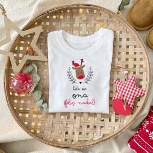 Camiseta Reno Navidad Personalizado Mrmint