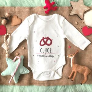 Body bebe Rosquilla Navidad Personalizado Mrmint