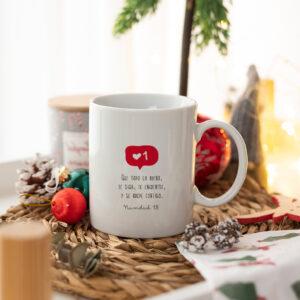 Taza Navidad personalizada Anverso con Nombre