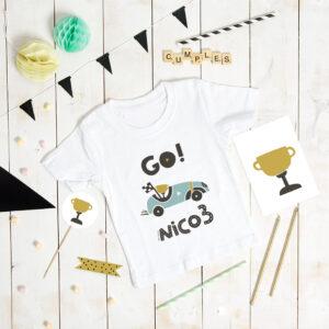 camiseta cumpleaños personalizada nombre MrMint